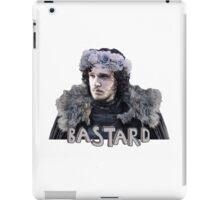 Snow Bastard Flower Crown iPad Case/Skin
