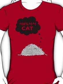 Cat Vs. String T-Shirt