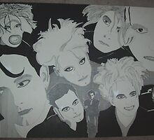 The Many Faces of Robert Smith by AutumnLeaves