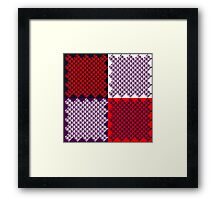 Masks (The Patterning) Framed Print