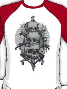 3 Skulls T-Shirt