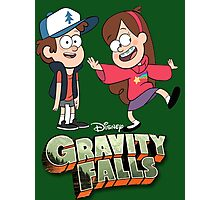 Gravity Falls-Dipper and Mabel Pines Photographic Print