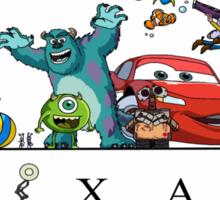 I Love Pixar Sticker