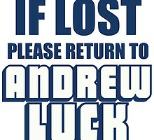 IF LOST PLEASE RETURN TO ANDREW LUCK by Divertions