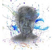 Maya Angelou tribute [Paintsplatter] by CiipherZer0