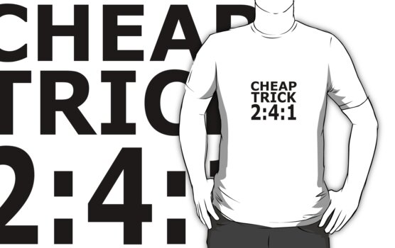 Cheap Trick - I want you to want me, chapter and verse by scary