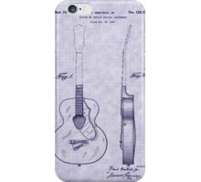 1941 Gretsch Guitar Patent iPhone Case/Skin