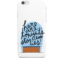 Weekend Update iPhone Case/Skin
