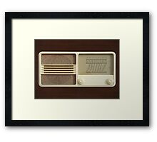 Vintage Sounds II Framed Print