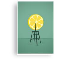 Lemon (Du)Champ Canvas Print