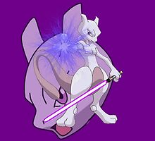 Jedi Master Mewtwo by BlueBeast