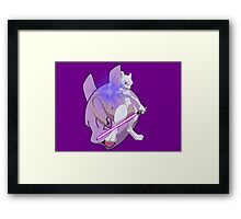 Jedi Master Mewtwo Framed Print
