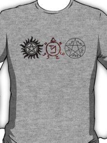Supernatural Symbols T-Shirt