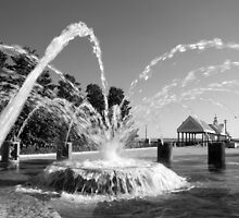 Waterfront Fountain #1, Charleston, SC by Benjamin Padgett