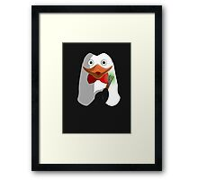 Doctor Penguin Framed Print