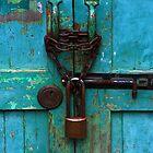 Blue door by Kos Cos