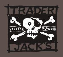 Trader Jack's Pirate Flag by traderjacks
