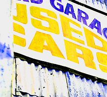 Old Garage Sign by elyglen
