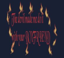 The Devil and your girlfriend by PishPosh