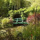 Monet's Bridge - Monet's garden, Giverny, France by Deanna Roberts Think in Pictures