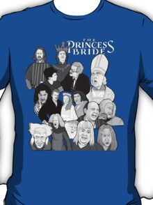 the Princess Bride character collage T-Shirt