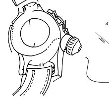 Petits Dessins Debiles - Small Weak Drawings#29 by Pascale Baud
