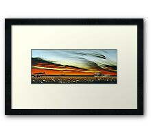 Here's Dad! Framed Print