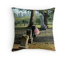 Patriot's Holiday Throw Pillow