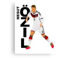 Mesut Özil - Minimalistic Design #1 Canvas Print