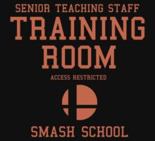 Smash School Training Room (Orange) by Nguyen013
