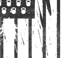 Barbell Flag V3 Sticker