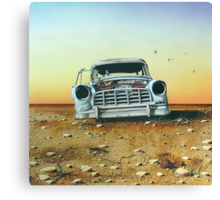 Come on Brocky! We're Outta' Here... Canvas Print