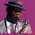 Jazz Saxophonist by Yuriy Shevchuk