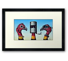 Outlaw Bush Turkeys Framed Print