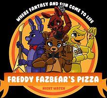 Freddy Fazbear's Pizza Logo by chibichocobunny