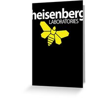 Heisenberg Laboratories Greeting Card