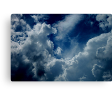 Treasures in the Heavens Canvas Print