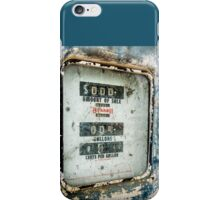 When Gas Made Cents iPhone Case/Skin