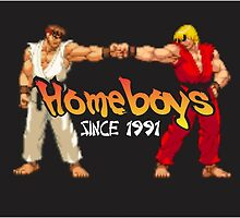 Ken, Ryu-Homeboys by ducane007