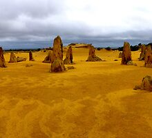The Pinnacles, Western Australia by spanners79