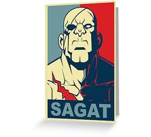 Sagat, Street Fighter Greeting Card