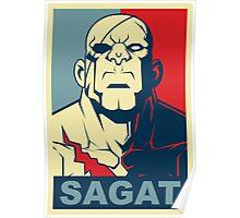 Sagat, Street Fighter Poster