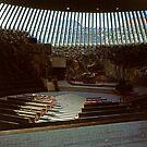 Interior, The Church in the Rock, Helsinki by Priscilla Turner