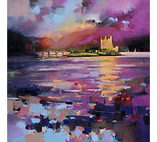 Evening Light at Eilean Donan Castle Photographic Print