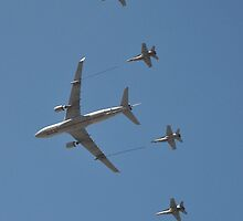 Air Refueling Display, Point Cook Airshow, Australia 2014 by muz2142
