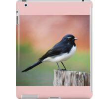Willy Wagtail iPad Case/Skin