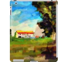 Farmhouse in a Wheatfield iPad Case/Skin
