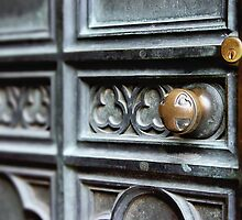 Heavy Church Door by Mark Stahl