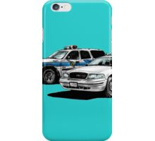 American Police Cars iPhone Case/Skin