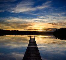 Blackalls Park Sunrise by Mark Snelson